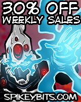 Spikey Bits - Weekly Sales