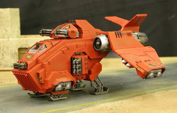 Blood Angels Stormraven with Hurricane Bolters