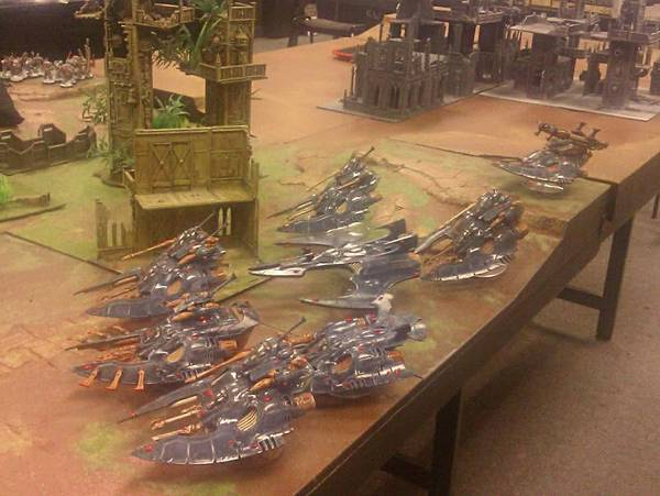 Eldar Corsairs on the Ready Line