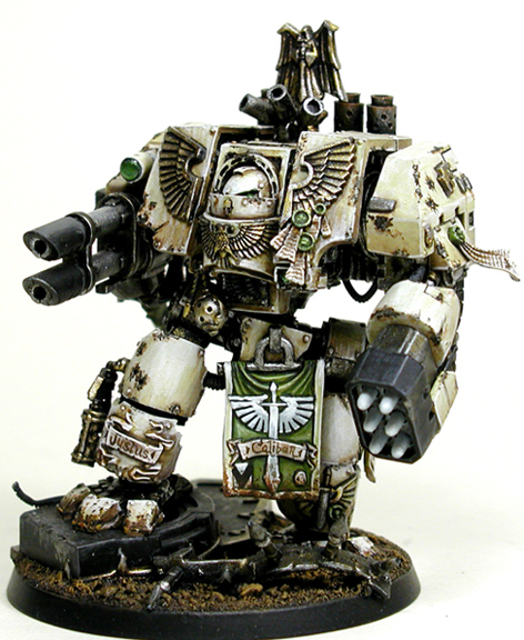 Dark Angels Venerable Dreadnought Deathwing