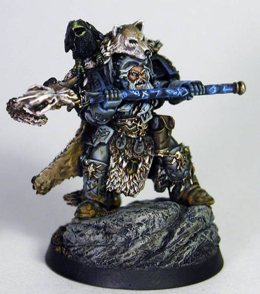Space Wolves Njal Stormcaller