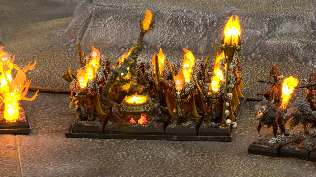 Led Lit Warriors Of Chaos Army My Photo Gallery